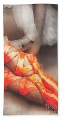 Red Shoes Beach Towel