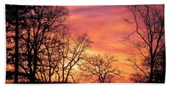 Red Sky At Night Sailor's Delight Beach Towel