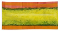 Red Yellow And Green Beach Sheet