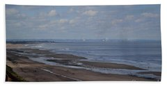 Redcar From A Distance Beach Sheet
