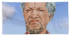 Redd Foxx As Fred Sanford Beach Towel