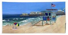 Redondo Beach Lifeguard  Beach Towel