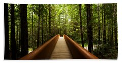 Redwood Bridge Beach Towel