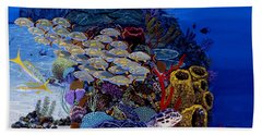 Reefs Edge Re0025 Beach Towel by Carey Chen