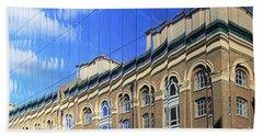 Reflected Building London Beach Sheet
