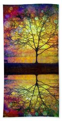 Reflected Dreams Beach Sheet by Tara Turner