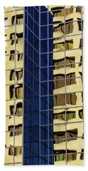 Reflecting Architecture  Beach Towel
