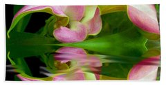 Reflecting Lily Beach Towel