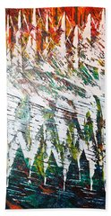Reflecting Sails Beach Towel by George Riney