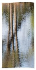 Reflection Abstract Beach Towel