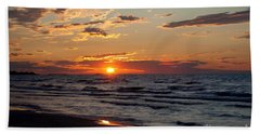 Beach Towel featuring the photograph Reflection by Barbara McMahon