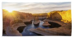 Reflection Canyon Beach Towel