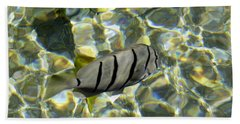 Reflection Fish Beach Towel