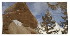 Upon Reflection Beach Towel