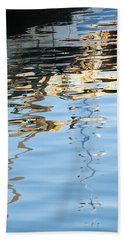 Reflections - White Beach Towel