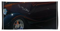 Beach Towel featuring the photograph Reflections by Bobbee Rickard