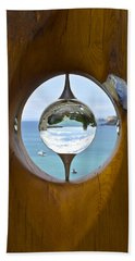Reflections In A Glass Ball Beach Towel