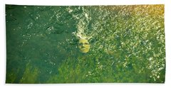 Reflections Of Time Beach Towel