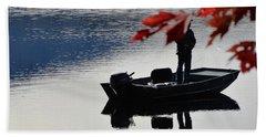 Reflections On Fishing Beach Sheet