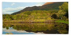 Reflections On Loch Etive Beach Towel