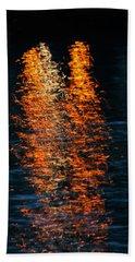 Reflections Beach Sheet by Pamela Walton