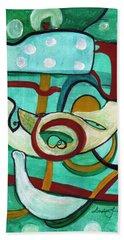 Reflective #3 Beach Towel