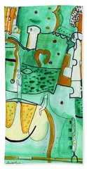 Reflective #8 Beach Towel