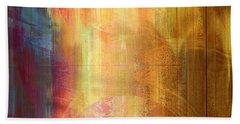 Reigning Light - Abstract Art Beach Sheet