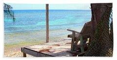 Relax Porch Beach Towel