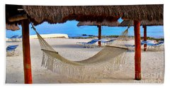 Relaxation Defined Beach Sheet by Patti Whitten