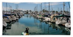 Beach Towel featuring the photograph Relaxing Day by Tammy Espino