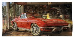 Relics Of History - Corvette - Elvis - Nehi Beach Sheet