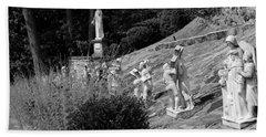 Religious Statues Beach Sheet