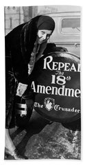 Repeal The 18th Amendment Beach Towel by Jon Neidert