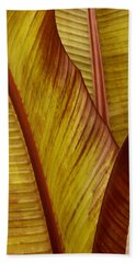 Repose - Leaf Beach Towel