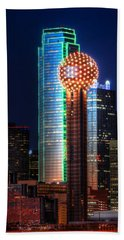 Reunion Tower Beach Towel