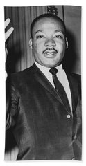 Rev. Martin Luther King Beach Towel