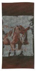 Rhinoceros Beach Towel