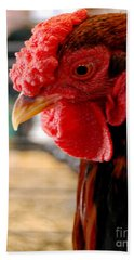 Rhode Island Red Beach Towel