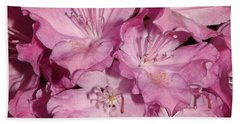 Rhododendron Bliss Beach Towel