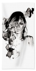 Rihanna Stay Beach Towel