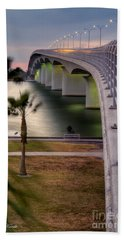 Ringling Causeway Bridge Overlook Beach Sheet