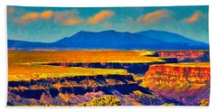 Rio Grande Gorge Lv Beach Towel