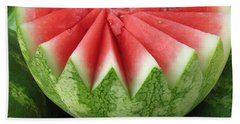 Ripe Watermelon Beach Sheet