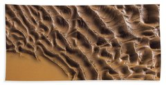 Ripples And Fins Beach Towel