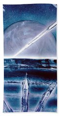 Beach Towel featuring the painting Riptide  by Jason Girard