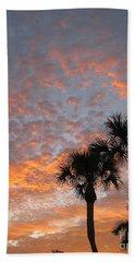 Rise And Shine. Florida. Morning Sky View Beach Sheet