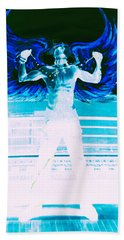 Rising Angel Beach Towel