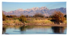 River View Mesilla Panorama Beach Towel