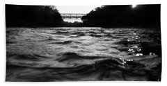 Beach Towel featuring the photograph Rivers Edge by Michael Krek